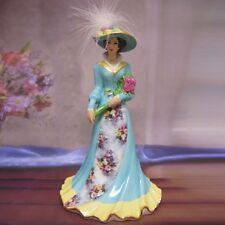 Garden Treasures Elegant Era Victorian Lena Liu Bell Figurine Bradford Exchange