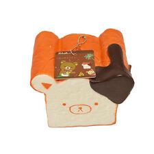 11CM Jumbo Rilakkuma Squishy Chocolate Toast Kids Toy Bread Fun With Phone Strap