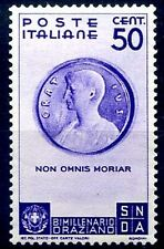 REGNO 1936 - ORAZIO  Cent. 50 NUOVO *