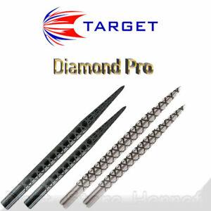 3 TARGET Diamond Pro Points, 32 mm / 36 mm - Länge und Farbe wählbar