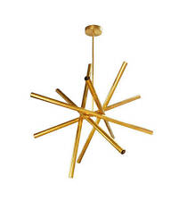 Brass midcentury Sputnik chandelier - 12 lights - Lighting Lamp Design