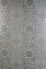 Square Vintage Kitchen Bathroom Washable Wallpaper. White Green Beige 42-3