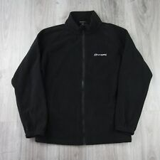 Vintage Mens Sprayway Eagle Combi Full Zip Fleece Jacket S Black
