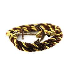 Bracelet Wristband Leather Men Handmade Women Bangle Rope Multilayer Hot