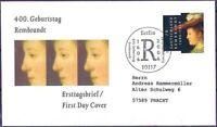 BRD 2006: Rembrandt! FDC der Nr. 2550 mit Berliner Sonderstempel! Gelaufen! 1911