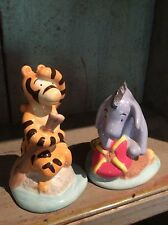 """Disney Eeyore And Tigger """"by The Sea"""" Classics Salt And Pepper Shakers"""