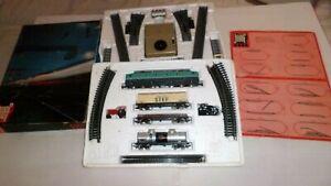 Jouef : lot de deux coffrets  loco cc 7107 , wagons,  + accessoires