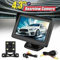 Telecamera per auto con visione notturna 170 ° HD con+Monitor LCD da 4,3 pollici