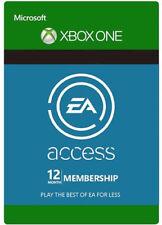 EA ACCESS 12 MONATE MITGLIEDSCHAFT [XBOX ONE] KARTE CODE 12 MONTH Key CARD