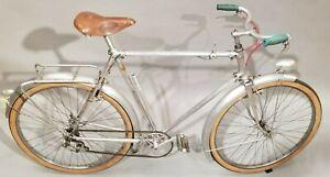 Carminargent Bicycle Alum. 1940's French cruiser 650B Simplex Stronglight Lefol