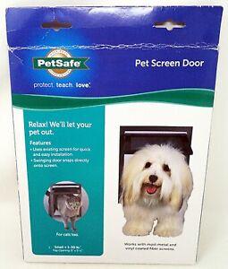 "PETSAFE Pet Screen Door 9"" x 11"" (Small: 1-30 lbs.) (NEW)"