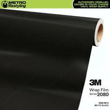 3m 2080 Series Matte Black Vinyl Vehicle Car Wrap Sheet Film Roll M12