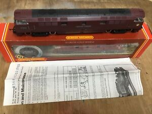 HORNBY R368 BR CLASS 52 DIESEL WESTERN COURIER EXCELLENT BOXED