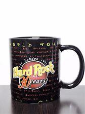 Hard Rock Cafe 30 Years World Tour Music For Life Niagara Falls Large Coffee Cup