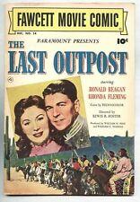 Fawcett Movie Comic #14-1951 fn/vf Ronald Reagan The Last Outpost