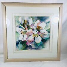 "Elizabeth Taft Art ~22.5""X 22.5""~Watercolor~"