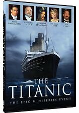 The Titanic: Complete Epic Mini-Series Event Peter Gallagher Box / DVD Set NEW!