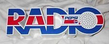 "PEPSI COLA LOGO RADIO ""UNUSED"" CONDITION NOS SPELLS RADIO WITH UNMARKED BOX NEW"