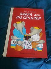 VTG 1938 Barbar and his Children by Jean de Brunhoff