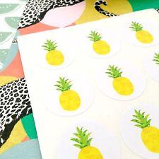 Pineapple Stickers. Envelope Seals. Wedding Invite Seals. #1038