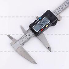 "8"" 200mm Electronic Digital LCD Caliper Vernier Gauge Micrometer Metal Housed"