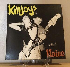 The Killjoys - Naive Mini Album Punk Vinyl Kevin Rowland