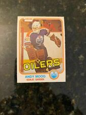 1981-82 O-PEE-CHEE HOCKEY #120 ANDY MOOG ROOKIE........NRMT