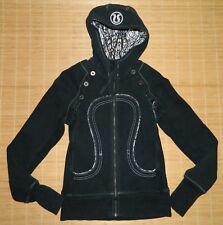 LULULEMON Special Edition Scuba Hoodie Vest & Jacket Black Size 4