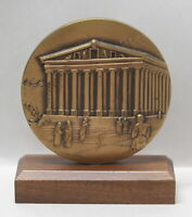 Temple of Artemus at Ephesus 2002 Calendar Medal Medallic Art Co. Bronze