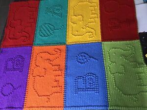 Handmade Crochet Baby Bassinet Car Cot Floor Pram Blanket 950 X 950