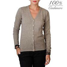 Fontana 2.0 women's 100% cashmere cardigan pullover.