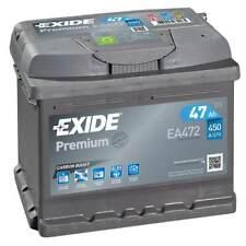 Batterie Exide EA472 12v 47ah 450A 207x175x175mm varta B18
