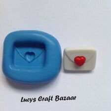 Silicone Mould Love Letter Valentine Marriage Wedding Romantic Sugarcraft Topper