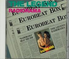 "RADIORAMA 'THE LEGEND"" EUROBEAT FARINA CRIVELLENTE ITALO DISCO CD 1988 JAPAN"