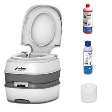 Enders Deluxe Chemietoilette Campingtoilette Mobile WC Toilette inkl. Starterset