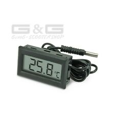 Indicador Temperatura Digital LCD Termómetro Sensor Agua Temperatura Del Aceite