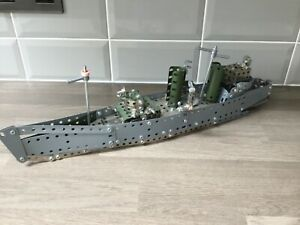 HMS BELFAST CONSTRUCTION SET METAL STYLE MODEL EDUCATIONAL SHIP BUILDING