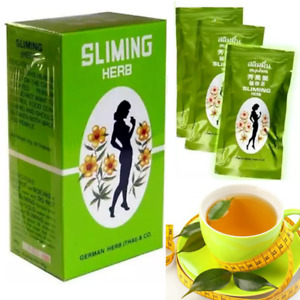 GERMAN SLIMMING HERB TEA - SLIMING WEIGHT LOSS DIET DETOX 50 BAGS FREE SHIPPING