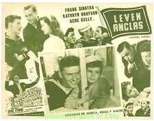 ANCHORS AWEIGH  Lobby Card  12.5x17 Inch RR60's Movie Poster Mexican GENE KELLY