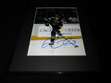 Logan Couture Signed Framed 11x14 Photo PSA/DNA Sharks B