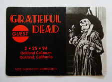 Grateful Dead Backstage Pass Phantom Of The Opera Lon Chaney Oakland 2/25/1994