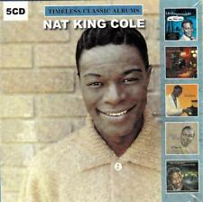 NAT KING COLE - TIMELESS CLASSIC ALBUMS (NEW SEALED 5CD)
