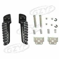 Rider Rear Foot Pegs Footrests Footpegs fit KAWASAKI Z1000SX 2011-2013 Black cl