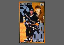 Vintage Original JAROMIR JAGR Pittsburgh Penguins 1995 Costacos Brothers POSTER