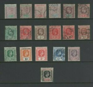 Leeward Islands Small Collection, Mint MH and Used