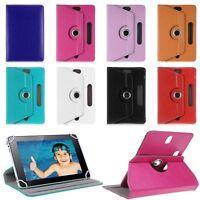 """Funda Carcasa Case Cover Para Tablet 7 8 9 10 10.1"""" Universel Giratoria 360º"""