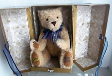 "Merrythought 70th Anniversary Bear 16"" Long Mohair Mib #36 of 2500 pieces"