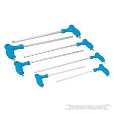 Silverline Hex Allen Key Long Length Set 7pce Power Handle 2.5 3 4 5 6 8 10mm