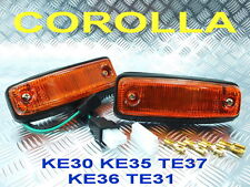 SIDE MARKERLIGHT LAMP FIT TOYOTA COROLLA KE30 KE35 KE36 KE38 KE55 TE37 TE31