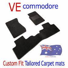 To suit Holden VE Commodore CUSTOM FIT Tailored Car Floor Mats CARPET